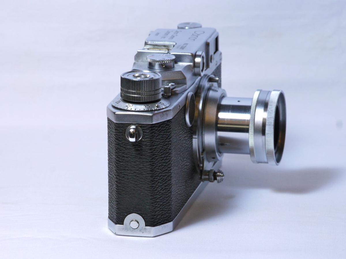 キャノンIIA キャノン50mm F 3.5付