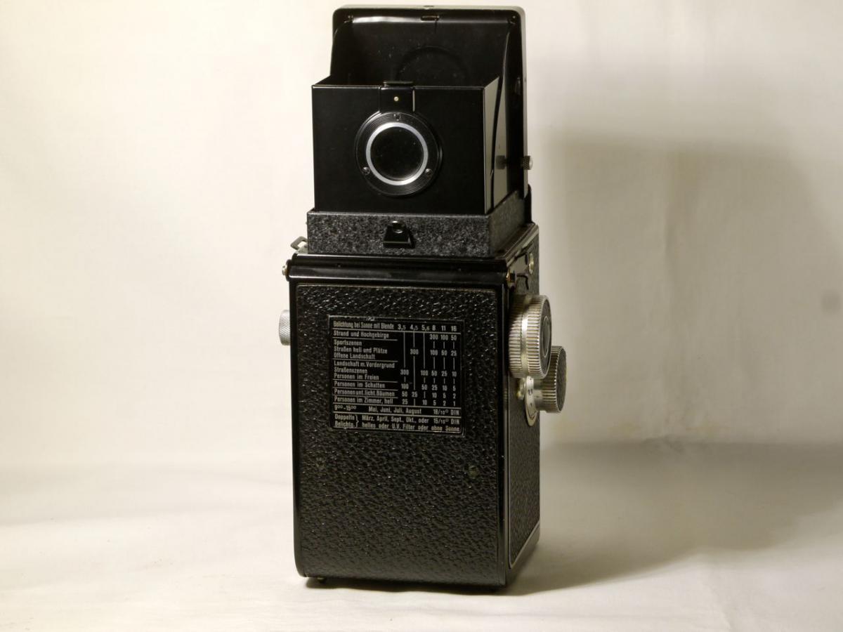 ローライコードII型 トリオター75mm F 3.5