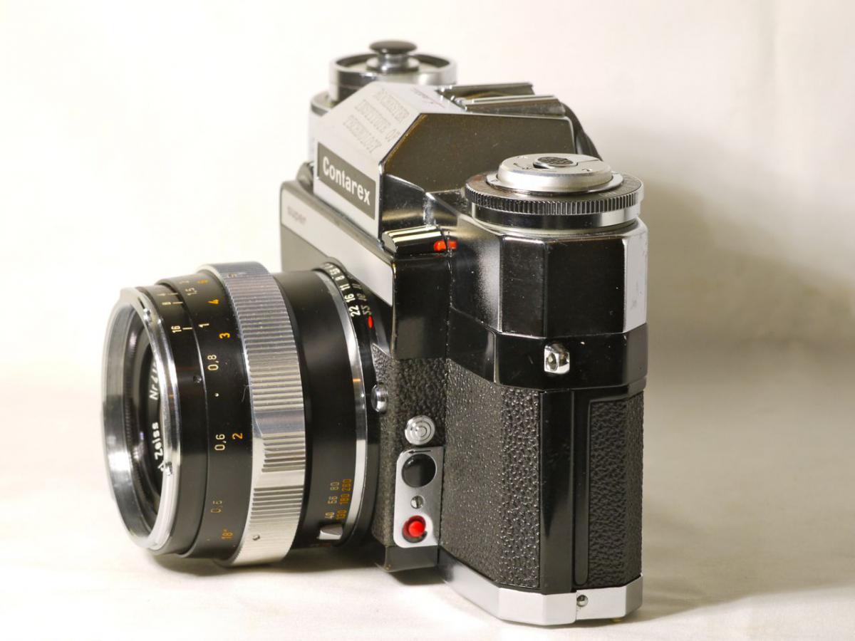 コンタレックス スーパー  フロントスイッチ  ディスタゴン35mm F 4 付